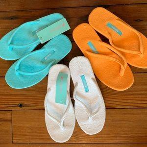 2f2d336e2 Mella Shoes - Mella Terry wedge flip flops